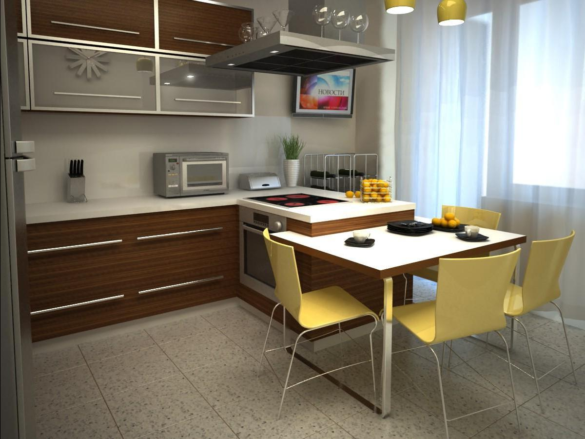 Кухня дизайн интерьер фото 8 кв метров