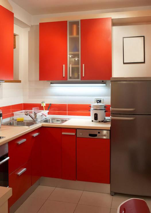Дизайн маленькой кухни 4 кв. м