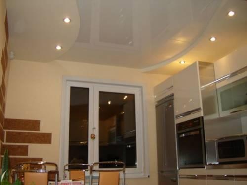 кухня отделка стен гипсокартоном