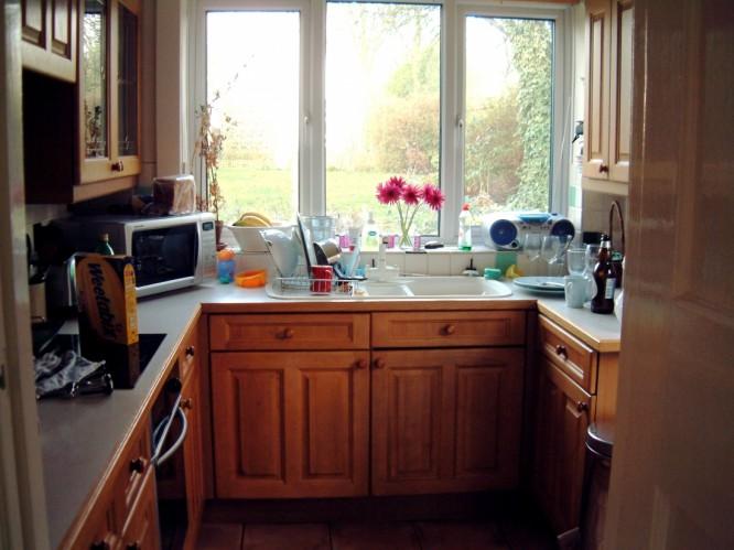 Уютная маленькая кухня фото 4