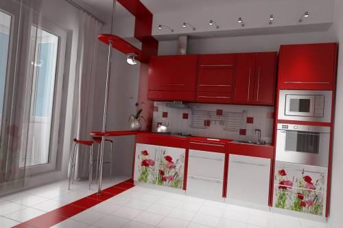 Кухня с балконом ремонт дизайн фото