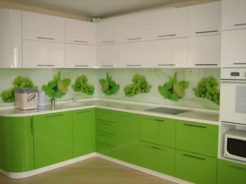 Кухни зеленые фото дизайн
