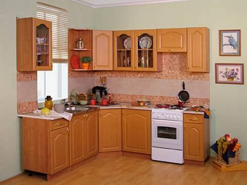 Угловые кухни эконом класса фото