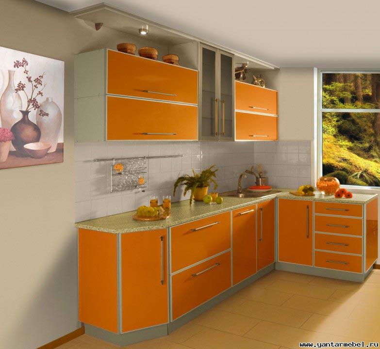Кухни в алюминиевом профиле фото