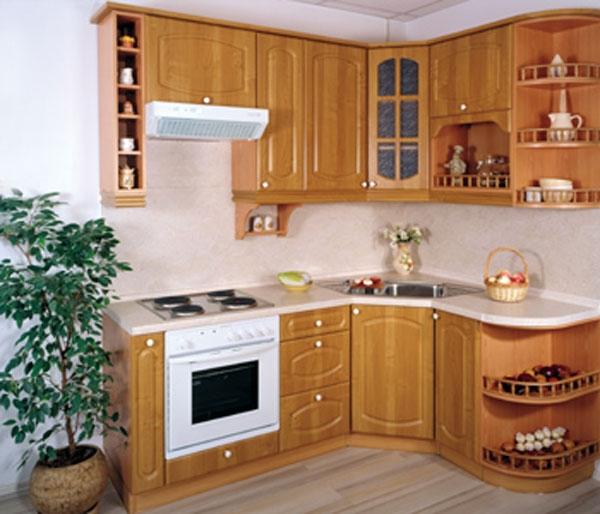Дизайн кухни 3 на 4 фото