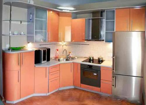 угловые кухонные гарнитуры для кухни 9 кв.м фото