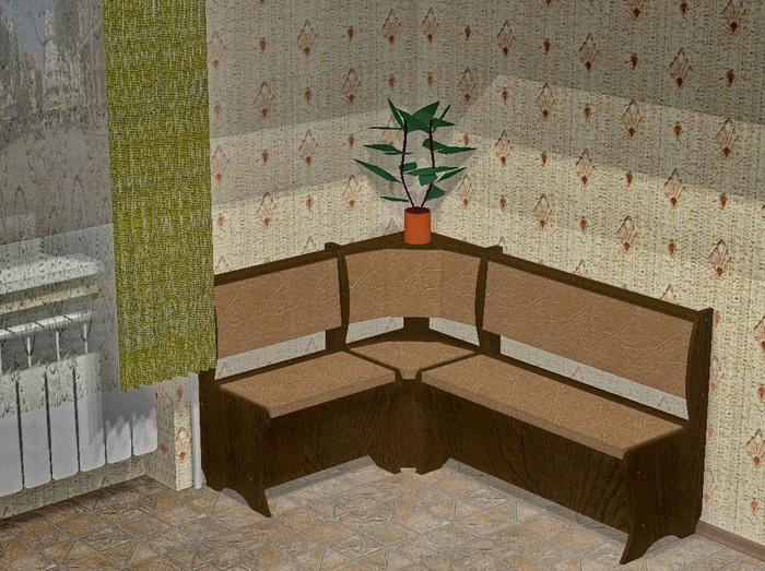 кухонный уголок своими руками чертежи кухонные уголки